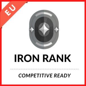 IRON RANK ACCOUNT [EU Region]