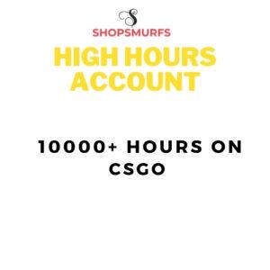 CSGO ACCOUNT | 10000+ HOURS  | FACEIT READY